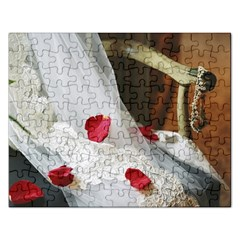 Western Wedding Festival Jigsaw Puzzle (rectangular)
