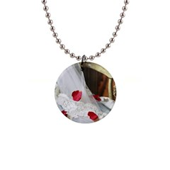 Western Wedding Festival 1  Button Necklace