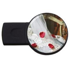 Western Wedding Festival USB Flash Drive Round (4 GB)