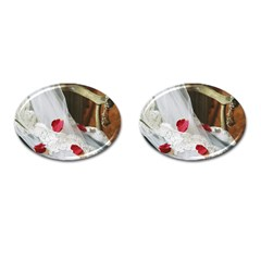 Western Wedding Festival Cufflinks (Oval)