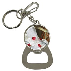 Western Wedding Festival Bottle Opener Key Chain