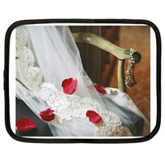 Western Wedding Festival Netbook Case (XXL)