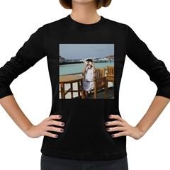 ?? 026 Women s Long Sleeve Dark T-Shirt