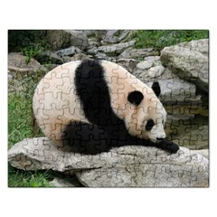 Giant Panda Jigsaw Puzzle (Rectangular)