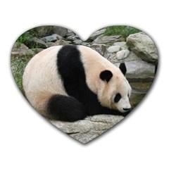 Giant Panda Mousepad (Heart)