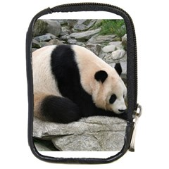 Giant Panda Compact Camera Leather Case