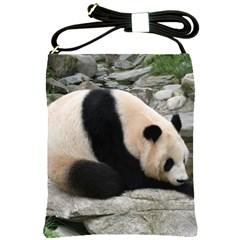 Giant Panda Shoulder Sling Bag
