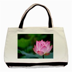 Pink Flowers Classic Tote Bag