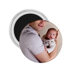 Father and Son Hug 2.25  Magnet
