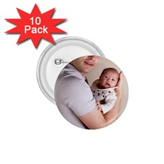 Father And Son Hug 1 75  Button (10 Pack)