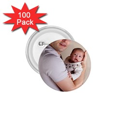 Father and Son Hug 1.75  Button (100 pack)