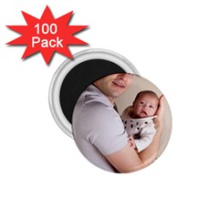 Father and Son Hug 1.75  Magnet (100 pack)