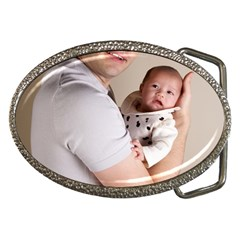 Father and Son Hug Belt Buckle