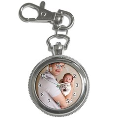 Father and Son Hug Key Chain Watch