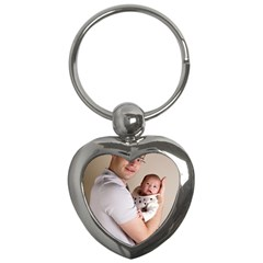 Father and Son Hug Key Chain (Heart)