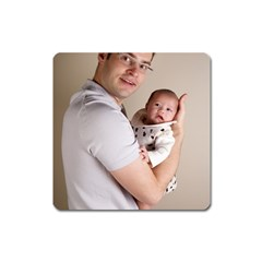 Father and Son Hug Magnet (Square)