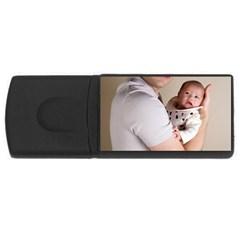 Father and Son Hug USB Flash Drive Rectangular (4 GB)