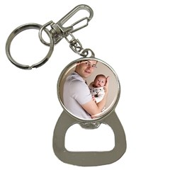 Father and Son Hug Bottle Opener Key Chain