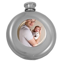 Father and Son Hug Hip Flask (5 oz)