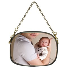 Father and Son Hug Chain Purse (One Side)