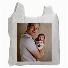 Father and Son Hug Recycle Bag (One Side)