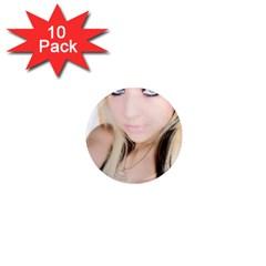 testgirl3 1  Mini Magnet (10 pack)