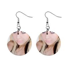 Testgirl3 1  Button Earrings