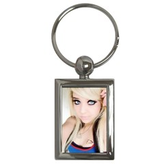 testgirl3 Key Chain (Rectangle)
