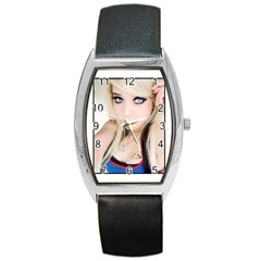 testgirl3 Barrel Style Metal Watch