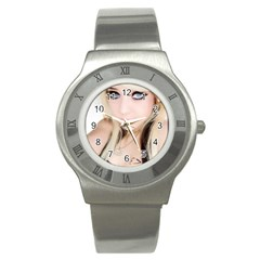 Testgirl3 Stainless Steel Watch