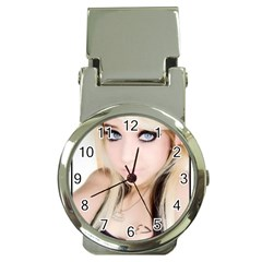testgirl3 Money Clip Watch