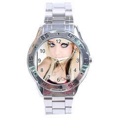 Testgirl3 Stainless Steel Analogue Men's Watch