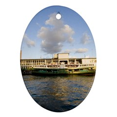 Hong Kong Ferry Ornament (Oval)