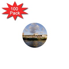 Hong Kong Ferry 1  Mini Button (100 pack)