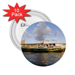Hong Kong Ferry 2 25  Button (10 Pack)