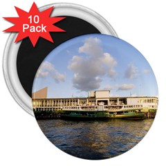 Hong Kong Ferry 3  Magnet (10 Pack)
