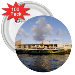 Hong Kong Ferry 3  Button (100 pack)