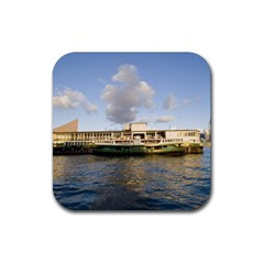 Hong Kong Ferry Rubber Square Coaster (4 pack)