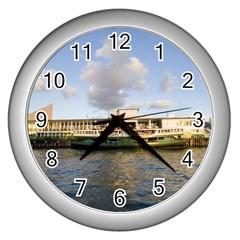 Hong Kong Ferry Wall Clock (Silver)