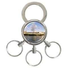 Hong Kong Ferry 3 Ring Key Chain
