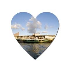 Hong Kong Ferry Magnet (Heart)
