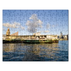 Hong Kong Ferry Jigsaw Puzzle (rectangular)