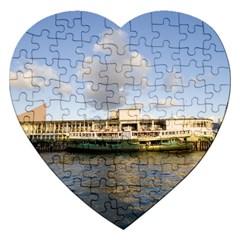 Hong Kong Ferry Jigsaw Puzzle (heart)
