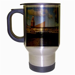 Hong Kong Ferry Travel Mug (silver Gray)