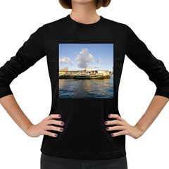 Hong Kong Ferry Women s Long Sleeve Dark T-Shirt