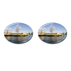Hong Kong Ferry Cufflinks (Oval)