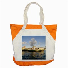 Hong Kong Ferry Accent Tote Bag