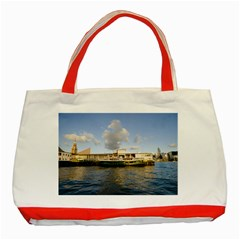 Hong Kong Ferry Classic Tote Bag (red)