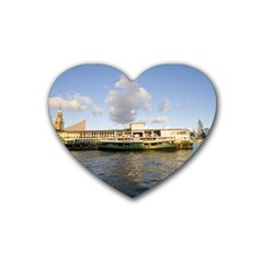 Hong Kong Ferry Rubber Coaster (Heart)