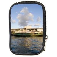 Hong Kong Ferry Compact Camera Leather Case